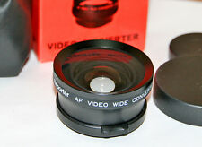 Aggiuntivo Ottico Video - Wide 0,5X  - diametro 37 mm - Wide Angle Lens