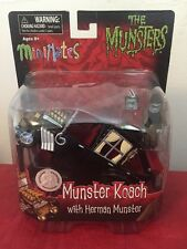MiniMates The Munsters Toys R Us Exclusive Munster Koach w/ Herman Munster NIB