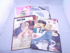 Lot of 4 Book TIGER & BUNNY YAOI Doujinshi Barnaby x Kotetsu from Japan F/S
