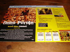 DEEP PURPLE BANANAS!!!!!!!!!!!!!!!RARE FRENCH PRESS/KIT