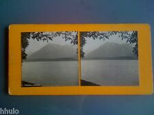 STC208 Suisse Lac de thoune & Niesen stereoview photo STEREO ancien vintage