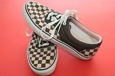 VANS Off The Wall Classic Pink / Brown Checkered Skateboarding Shoes 8
