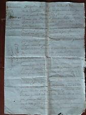 DOC MS AN 13 : PROCURATION DAME DE CORBIGNY (NIEVRE) DEMANDE JUDICIAIRE