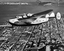 Pan Am Clipper B-314 Photo California Clipper Flying Boat over Frisco