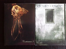 Steven Wilson CONTINUUM I & II deluxe ltd ed CD porcupine tree bass communion