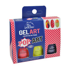 ibd Just Gel UV LED Gel Polish Gel Art Pop Art 3-pack 0.25oz