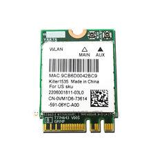 Dell Alienware 13 R2 17 Killer1535 Wireless 802.11ac+BT 4.1 WIFI WLAN Card VM1D6