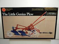 1/16 SCALE ERTL PRECISION SERIES THE LITTLE GENIUS PLOW RED, WHITE, & BLUE