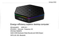 4K QCTA CORE ANDROID TV BOX XBMC KODI 16GB 2XWiFi HDMI MINI PC MULTIMEDIA PLAYER