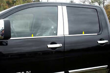 2004-2012 NISSAN TITAN CREW CAB 4PC STAINLESS STEEL WINDOW SILL TRIM