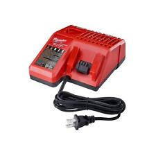 NEW MILWAUKEE 48-59-1812 M12 M18 MULTI VOLTAGE BATTERY CHARGER (CHARGER ONLY)