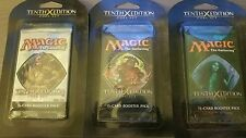 10th edition pack x3    MTG magic - 2007 - crucible of worlds - seedborn muse