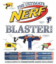 Brand New The Ultimate NERF BLASTER Book ~ 6 Exclusive Elite Darts Included