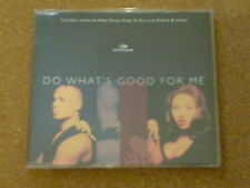 2 UNLIMITED  - DO WHAT'S GOOD FOR ME - CD SINGLE