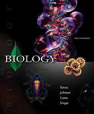 Biology, Losos,Jonathan, Singer,Susan, Johnson,George, Raven,Peter, Good Book