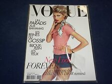 2009 JUNE/JULY VOGUE PARIS MAGAZINE - ANJA RUBIK - FRENCH FASHION - O 5406