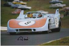 Reinhold joest main signé porsche 908 photo 6X4 nurburgring 1972.
