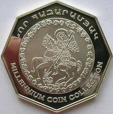 Armenia 2000 Georges Kill Dragon 2000 Drams Silver Coin,Proof
