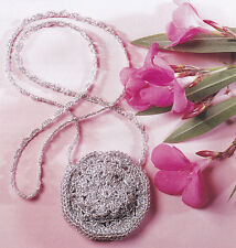 Crochet Pattern ~ Little Stylish Amulet Bag Little Purse ~ Instructions