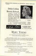 1964 School Delia Collins Mary Young Model , W10 Young, Mrs M