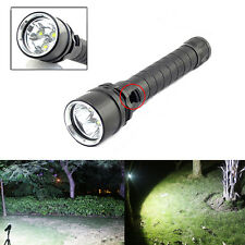New 8000Lumen 3x XM-L2 LED 18650 Diving Flashlight Torch Lamp Waterproof Light