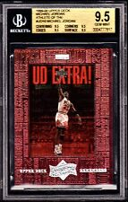"1999 ATHLETE OF THE CENTURY ""UD REMEMBERS"" MICHAEL JORDAN #UD10 *BGS 9.5. *POP=1"