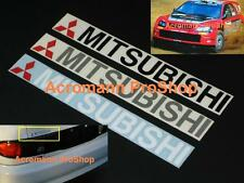 "2x 8.5"" 21.6cm Mitsubishi Decal Sticker Evolution Eclipse Lancer Galant Montero"