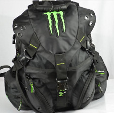 New Black Monster Energy EDC Laptop Carry Book Bag Backpack Biking Cycling Pack