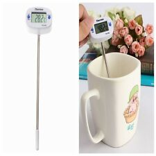 Digital LCD Thermometer Kitchen Laboratory BBQ Meat Food Candy Jam Deep Fry Hot