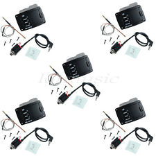5 Sets BELCAT UK2000 New Spiral Piezo Cable Pickup EQ Preamp For Ukulele