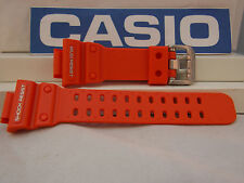 Casio Watch Band GX-56 GXW-56 Orange Mud Resist Rubber G-Shock Strap Watchband