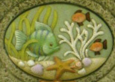 Ceramic Bisque Ready to Paint Sea Life insert