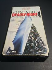 Silent Night Deadly Night 4: Initiation - Silent Films - Horror VHS