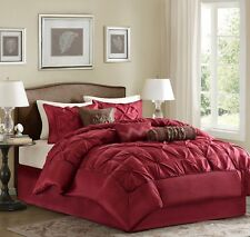 *NEW 7 PIECE COMFORTER SET / BED IN A BAG - 9 COLORS