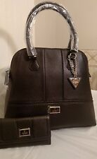 AUTHENTIC NEW NWT GUESS DAYTON  TOTE HANDBAG PURSE with MATCHING WALLET