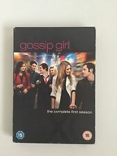 GOSSIP GIRL SEASON 1 DVD BOX SET COMPLETE FIRST SEASON 5 DISC UK REGION 2
