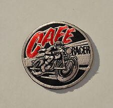 Patch, cafe racer, vintage, écusson, aufbügler, triumph, Norton, BSA, biker, racing