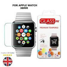 GENUINE TEMPERED GLASS SCREEN PROTECTOR FILM FOR APPLE WATCH SPORT EDITION 38MM