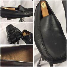 Clarks Driving Moccasins Size 12 Men Black Loafer Slip On Mint Brazil TR11 YGI