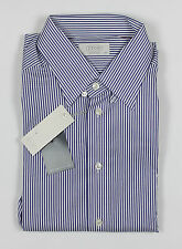 Eton - Navy Tab Shirt - Contemporary - Size: 16.5/42 - RRP: £130 - NEW WITH TAGS