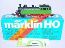 "Marklin AC HO 1:87 ""WÜRTTEMBERG"" Green T5 STEAM TANK LOCOMOTIVE NEW! MIB`80 RARE"