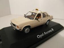 """Modellauto Schuco 1,43 Opel Ascona B 1,6 TAXI"""" Limited edition Rar"""