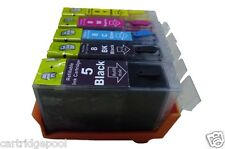 Refillable ink cartridges for Canon PGI-5 CLI-8 PIXMA MP500 MP530 MP600 iP4500