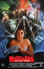 A Nightmare On Elm Street movie poster (c) 11 x 17 inches  : Classic Horror