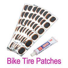 48 Rustine Tube Glu Colle Roue Patch Vélo Bicyclette Réparation Pneu Outil NF
