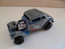 33 Willys Streey Rod - Matchbox - 1982 - Blue - China