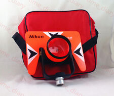 NEW RED NIKON SINGLE PRISM FOR NIKON TOTAL STATION -30/0mm 5/8x11 female thread