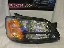 2000-01-02-03-04 SUBARU LEGACY/OUTBACK/BAJA PASSENGER/RIGHT HALOGEN HEADLIGHTS
