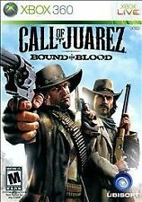 CALL OF JUAREZ BOUND IN BLOOD XBOX 360 - LN