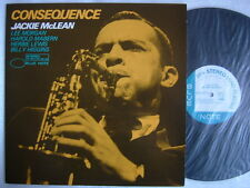UNRELEASED / JACKIE McLEAN CONSEQUENCE / JAPAN BLUE NOTE KING